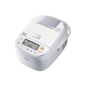 パナソニック PANASONIC1.0L 0.5〜5.5合 可変圧力IHジャー炊飯器 SR-PB105-W