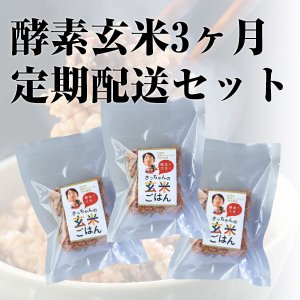 酵素玄米3ヶ月定期配送セット 熟成3日28パック|kousogenmai