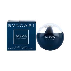 ブルガリ BVLGARI アクア プールオム EDT 5ml ミニチュア 【ミニ香水】【あすつく】|kousuiandco