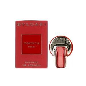 ブルガリ BVLGARI オムニア コーラル EDT 5ml ミニチュア 【ミニ香水】【あすつく】|kousuiandco