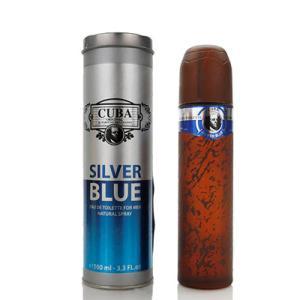 キューバ CUBA キューバ シルバー ブルー EDT SP 100ml 【香水】【あすつく】|kousuiandco