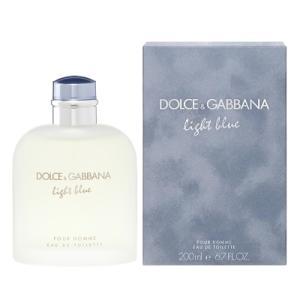 ドルチェ&ガッバーナ DOLCE&GABBANA D&G ライトブルー プールオム EDT SP 200ml 【香水】【odr】|kousuiandco