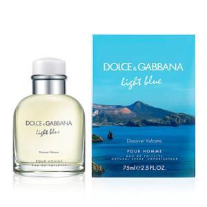 ドルチェ&ガッバーナ DOLCE&GABBANA D&G ライトブルー ディスカバー ヴルカーノ EDT SP 75ml 【香水】【あすつく】|kousuiandco