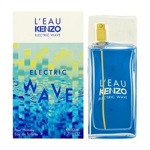 ケンゾー KENZO ローパ ケンゾー エレクトリック ウェイブ プールオム EDT SP 50ml 【香水】【激安セール】【あすつく】|kousuiandco