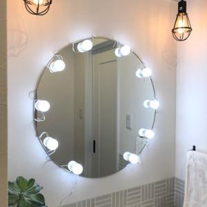 HOME ハリウッドミラーライト LED Vanity Mirror Lights 女優ライト ハリウッドライト ドレッサーライト【あすつく】|kousuiandco