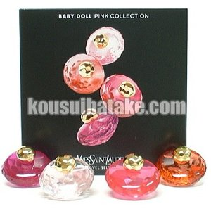 イヴサンローラン ベビードール ピンク コレクション EDT SP 7.5ml×4 香水 フレグランス|kousuibatake1