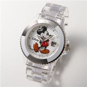 Disney【ディズニー】ミッキーマウスウォッチ D91084 SVCL クリアー [時計]|kousuiclub