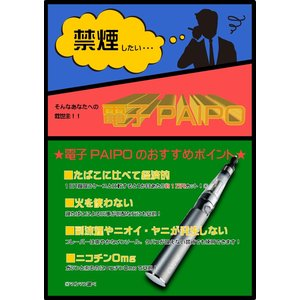 マルマン 電子パイポ 電子PAIPO クリーンスモーカー スターターセット ダークグレー|kousuiclub|04