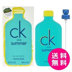 カルバンクライン CK シーケーワン CK-ONE サマー 2020 EDT SP 100ml|kousuiclub