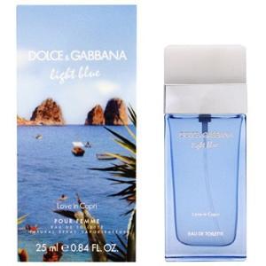 ドルチェ&ガッバーナ D&G ライトブルー ラブ イン カプリ プールファム EDT SP 25ml レディース 香水|kousuiclub