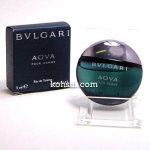 ブルガリ アクア プールオム EDT 5ml BVLGARI メンズ ミニ香水|kousuiclub