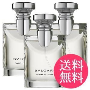 ブルガリ プールオム 3本セット EDT SP 100ml BVLGARI メンズ 香水...