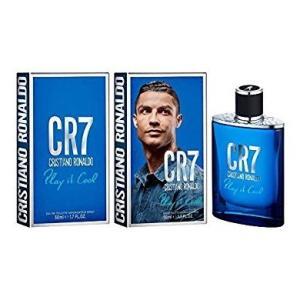 クリスティアーノ・ロナウド Cristiano Ronaldo CR7 プレイイットクール オードトワレ EDT SP 50ml|kousuiclub