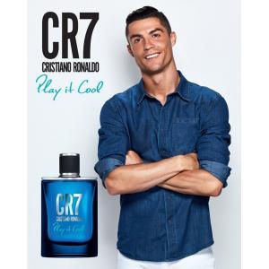 クリスティアーノ・ロナウド Cristiano Ronaldo CR7 プレイイットクール オードトワレ EDT SP 50ml|kousuiclub|02