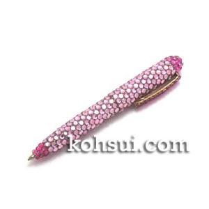 キラキラボールペン ベビーピンク・ピンク|kousuiclub