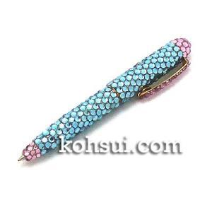 キラキラボールペン スカイブルー・ベビーピンク|kousuiclub