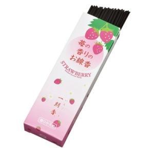 梅栄堂 一期香(イチゴ) 煙控えめお線香 短寸贈答用 60本|kousuiclub