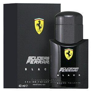 フェラーリ FERRARI フェラーリ ブラック 40ml EDT SP fs 【あすつく】【香水 メンズ】|kousuimonogatari-ys