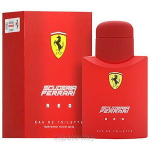 フェラーリ FERRARI フェラーリ レッド 125ml EDT SP fs 【あすつく】【香水 メンズ】|kousuimonogatari-ys