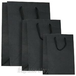 ショッピングバッグ プレゼント用ショッピングバッグ クロ ※包装なしバッグのみ etc 【あすつく_休止中】|kousuimonogatari-ys