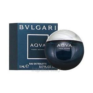 ブルガリ BVLGARI アクア プールオム 5ml EDT ミニ香水 ミニチュア fs 【あすつく】 kousuimonogatari-ys