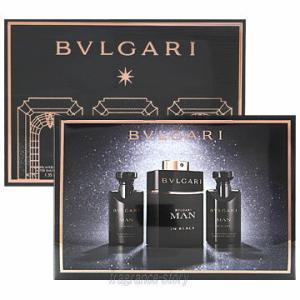 buy online fa563 4ed01 ブルガリ BVLGARI ブルガリ マン イン ブラック 3Pギフトセット 60ml+ASB40ml+SG40ml fs 【香水 メンズ】【あすつく】