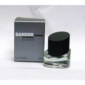 ジル サンダー サンダー フォーメン 5ml ミニボトル |kousuinet