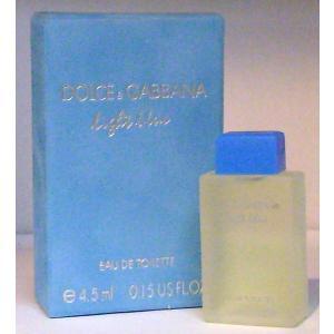 ドルチェ&ガッバーナ D&G  ライトブルー  EDT 4.5ml |kousuinet