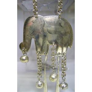 象のペンダント (タイ製)|kousuinet