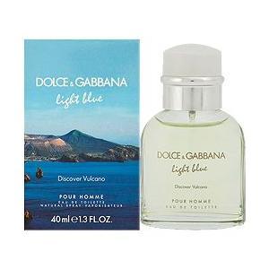 ドルチェ&ガッパーナ D&G ライトブルー ディスカバー ヴルカーノ EDT SP 40ml (香水)|kousuinoana