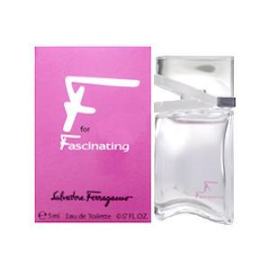 サルバトーレフェラガモ エフ フォー ファシネイティング EDT BT 5ml (香水)|kousuinoana