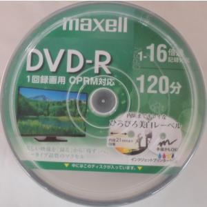 マクセル 製 品番 DRD120WPE50SP インクジェットプリンター対応。 DVD−Rディスク ...