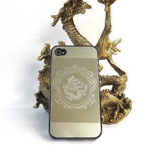 風水龍 アイフォンケース iphone4s/4 クラウン 単龍|kouyuu
