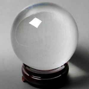 風水 人工(溶錬)水晶玉  人工水晶球 110mm 風水 開運 グッズ インテリア 宙玉 セール|kouyuu
