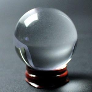 風水 人工(溶錬)水晶玉 人工水晶球 50mm 風水 開運 グッズ インテリア 宙玉|kouyuu