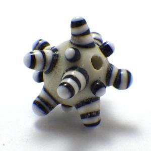 トンボ玉パーツ(デコボコ球型) とんぼ玉 手芸 手作り 材料 ビーズ パーツ|kouyuu