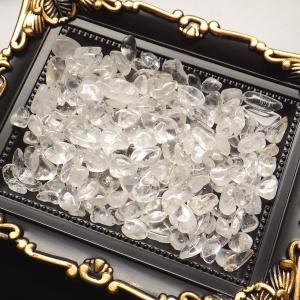 天然水晶 タンブル さざれ 100g 天然石 ...の詳細画像1