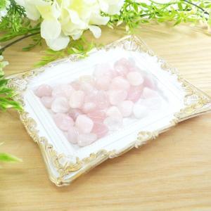 ローズクォーツ タンブル(大粒)(さざれ)(100g) 天然石 パワーストーン 紅水晶 セール|kouyuu