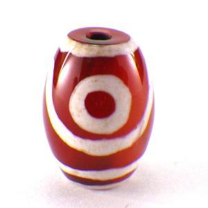 二眼天珠(小)1個 パーツ 天然石 パワーストーン 風水 開運 グッズ 材料 ビーズ|kouyuu