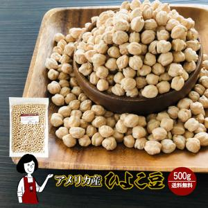 ひよこ豆 500g チャック付 ガルバンゾー|kowakeya