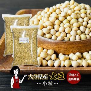 大分県産大豆 規格外 大粒 5kg×2(計10kg)〔チャック付〕 令和1年産 「OITA30CP_...