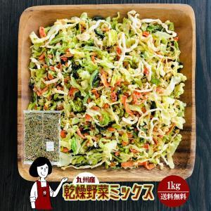 九州産 乾燥野菜ミックス 1kg kowakeya