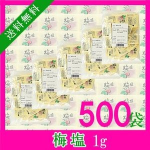 梅塩 1g×500袋
