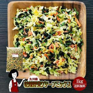 乾燥野菜グリーンミックス 1kg チャック付 kowakeya