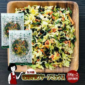 ■内容量:100g×2   ■原材料:キャベツ(九州産)      ほうれん草(九州産)      ...