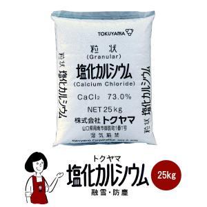 トクヤマ 塩化カルシウム 25kg|kowakeya