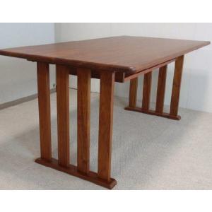 ダイニングテーブル テーブル カリン材 ダイニングテーブルkarin-160 無垢|kowbowmokumoku