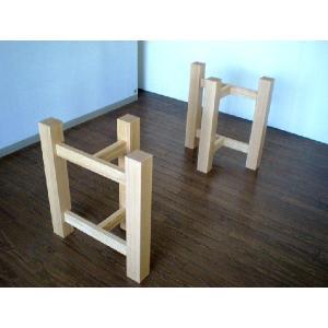 テ-ブル用・座卓兼用脚(天板は別売です。) kowbowmokumoku