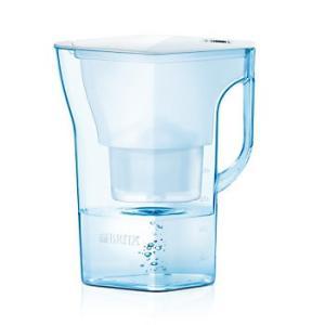BRITAナヴェリア ホワイト 2.3L(浄水部容量 1.3 リットル)  (カートリッジ1個付属)ブリタ ポット型浄水器|koyama-p