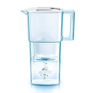 BRITAリクエリ ホワイト 2.2L(浄水部容量 1.1 リットル)  (カートリッジ1個付属)ブリタ ポット型浄水器|koyama-p